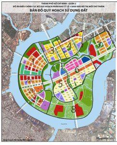 ý nghĩa các bản đồ trong bất động sản