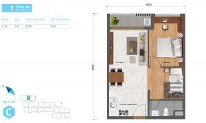 thiết kế căn hộ safira khang điền 1