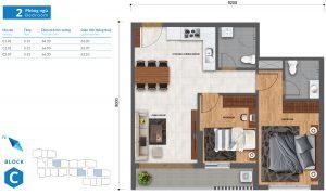 thiết kế căn hộ safira khang điền