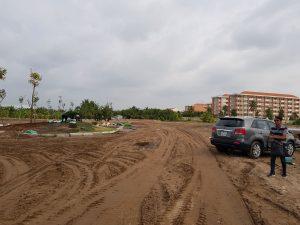 tiến độ dự án d'villa centa tân an