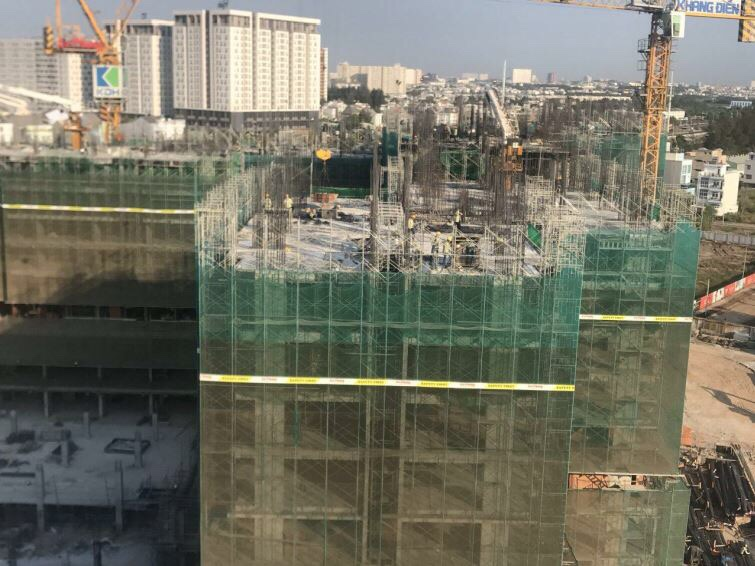 tiến độ căn hộ safira khang điền