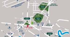 Vị trí thuận lợi cho đời sống dân cư tại căn hộ Park Legend Tân Bình