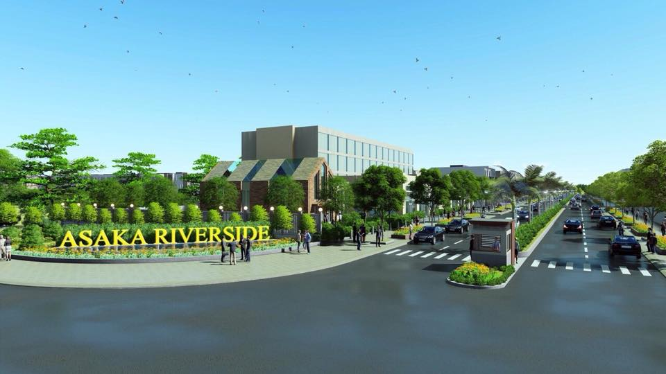 tiện ích dự án asaka riverside bến lức