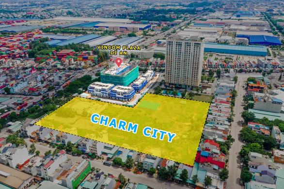 tiến độ charm city
