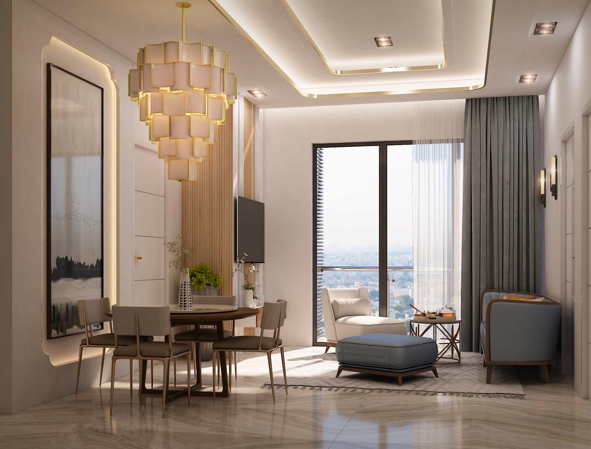 thiết kế căn hộ d homme quận 6