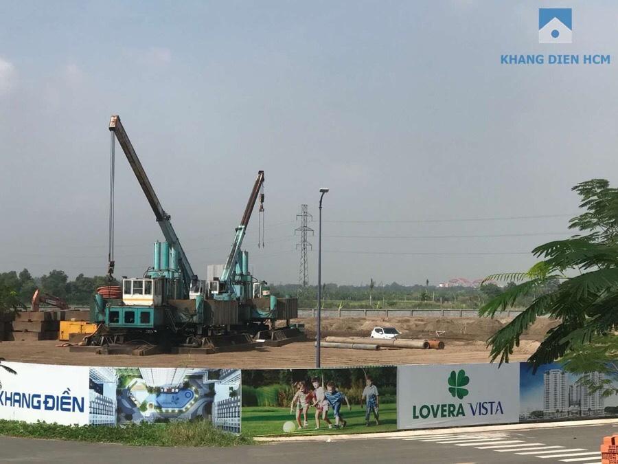 tiến độ dự án lovera vista khang điền