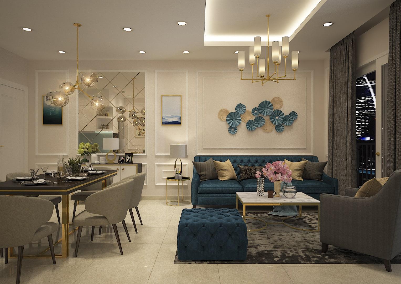thiết kế căn hộ paris hoàng kim quận 2