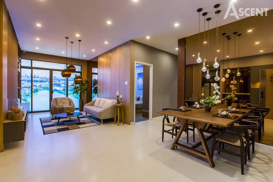 thiết kế căn hộ ascent garden homes