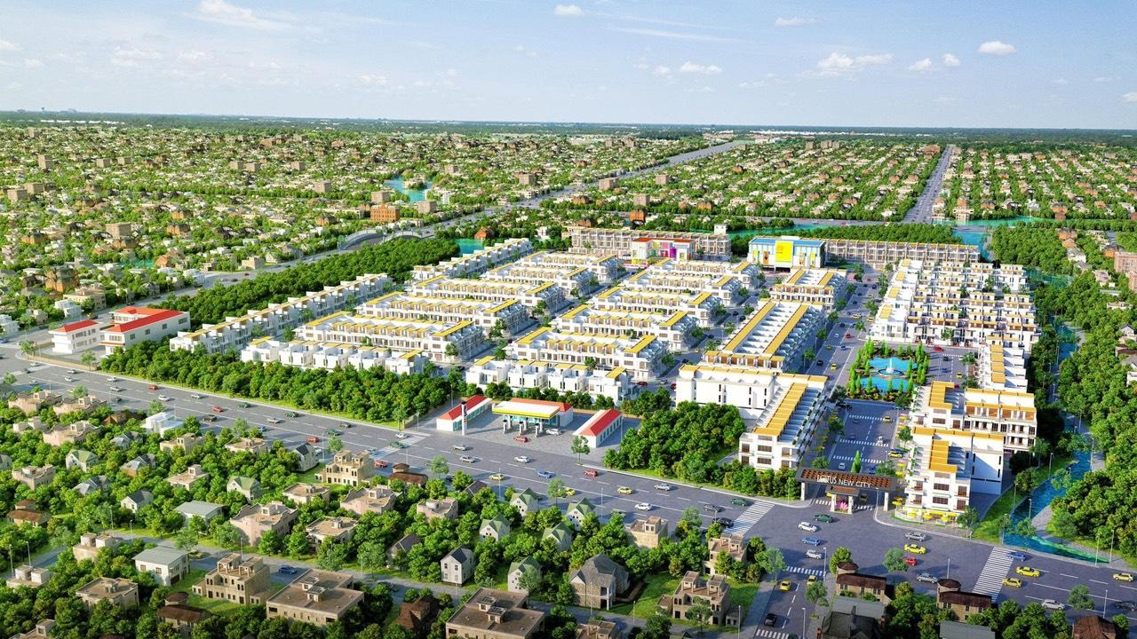 Tổng thểdự án Lotus New City