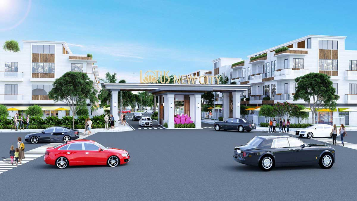 Phối cảnh dự án Lotus New City