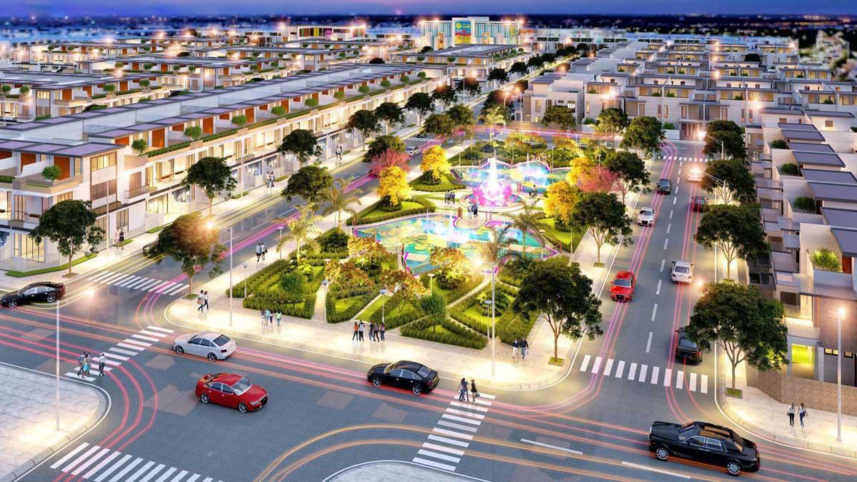 tiện ích dự án dự án Lotus New City