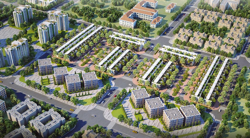 Phối cảnh tổng thể dự án An Phú New City Quận 2