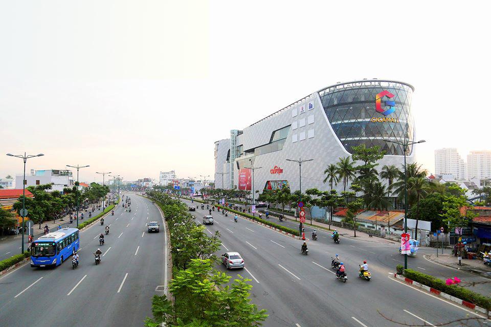Gigamall Phạm Văn Đồng chỉ cách dự án 500m