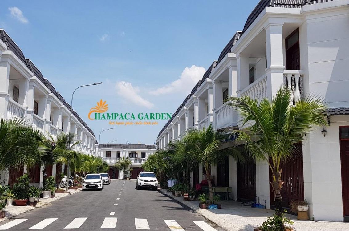 hình ảnh thực tế nhà phố chapaca garden
