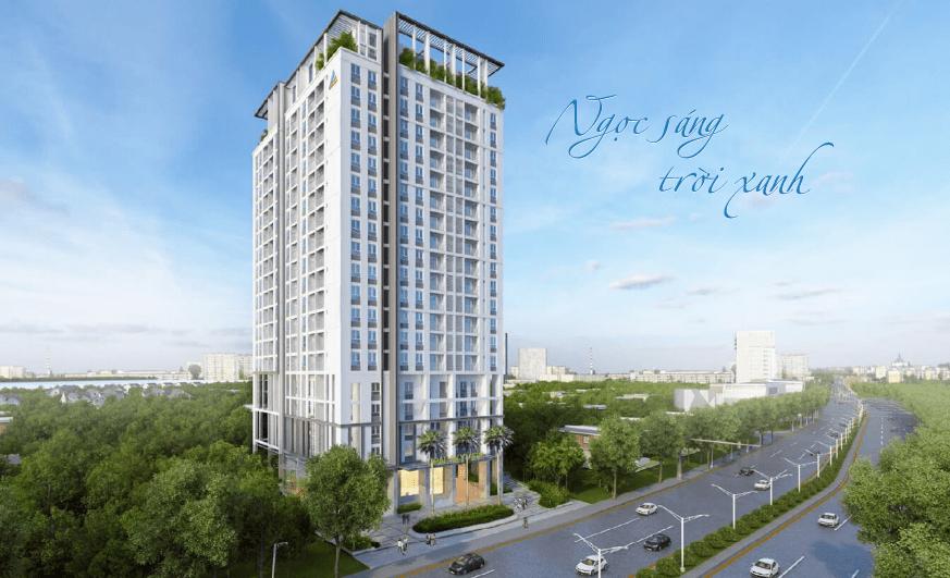 Phối cảnh dự án căn hộ ST Maritz Phạm Văn Đồng