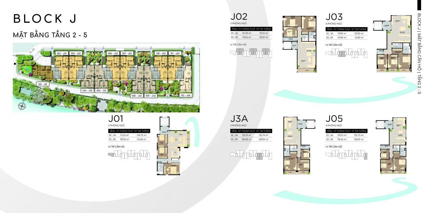 Thiết kế sole tạo cho các căn hộ đều là căn góc 3 mặt thoáng của Panomax River Villa