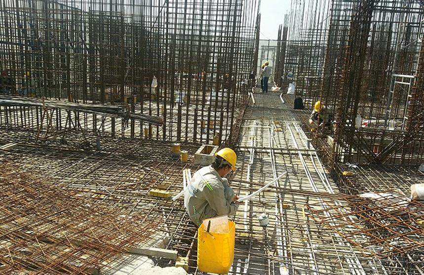 Tiến độ xây dựng dự án Sky 89 sàn tầng 7 tháng 12-2019