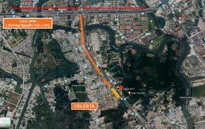 vị trí dự án căn hộ celesta rise