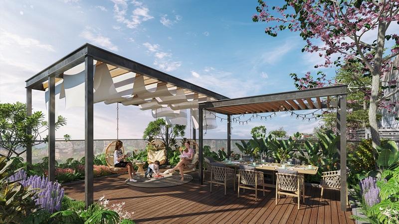 Tiện ích căn hộ panomax river villa
