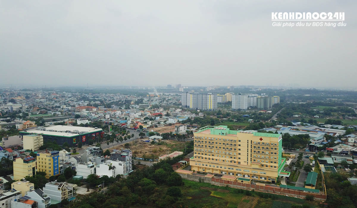 tiến độ dự án căn hộ green square dĩ an city bình dương
