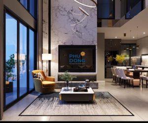 thiết kế căn hộ phú đông sky garden