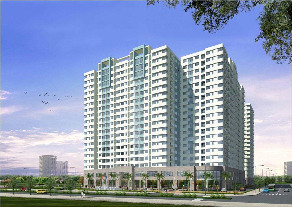 Phối cảnh dự án căn hộ LDG Sky