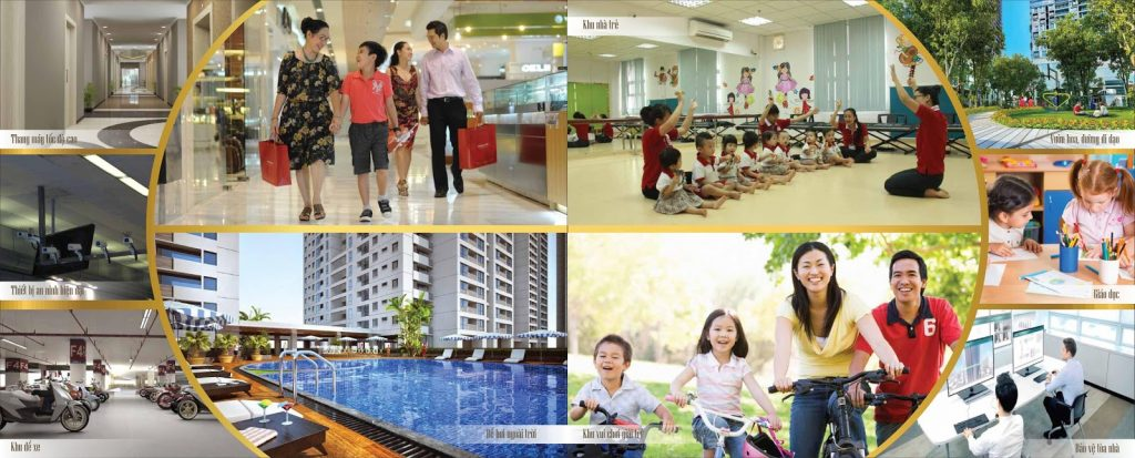 Tiện ích căn hộ phú đông smart city