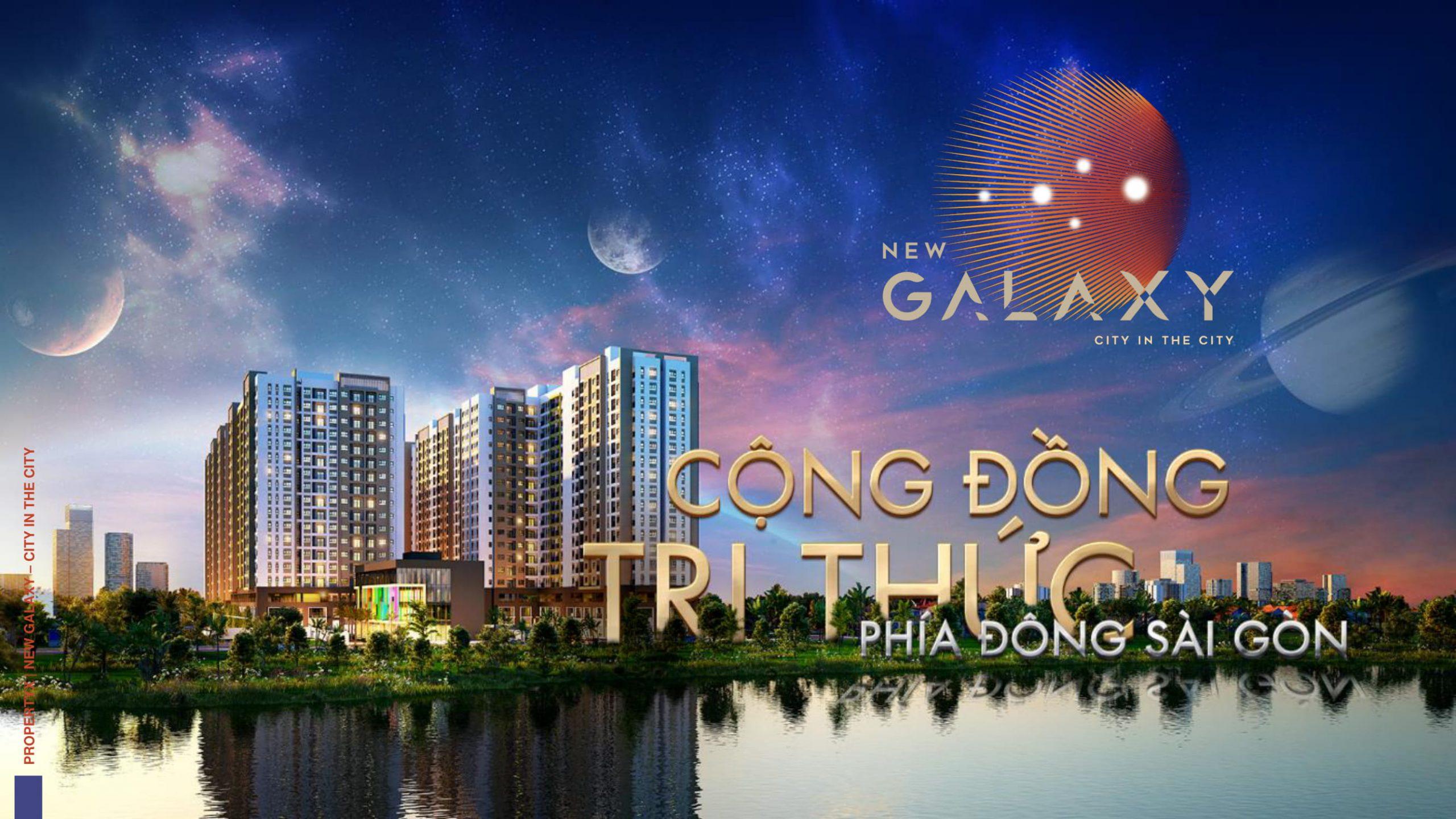 Phối cảnh dự án căn hộ New Galaxy