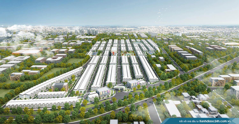 Phối cảnh dự án An Phú Long Garden